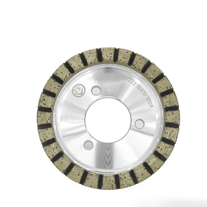 Best selling glass edging wheel with full teeth AQ
