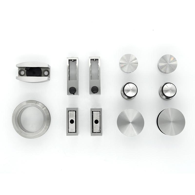 Glass Shower Sliding Door Set Stainless Steel 304 KA-S002