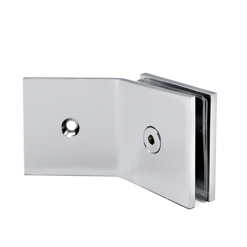 135 Degree Wall Mounted Glass Clamp GC-7-135BS