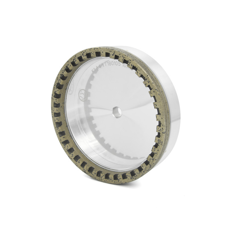 Glass Diamond Cup Wheel Internal Tooth AN