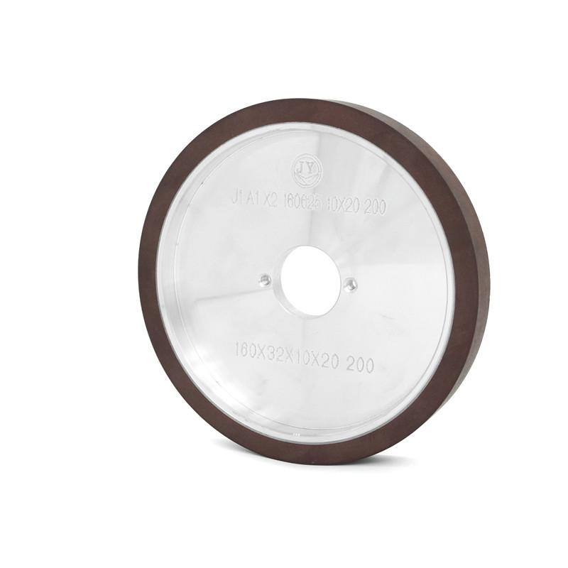 Resin bond glass four edge machine diamond wheel E-FE4