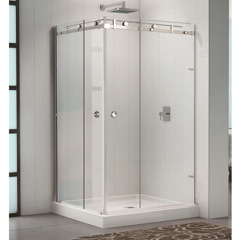 90 Degree Sliding Shower Glass Door Stainless Steel 304 KA-S001