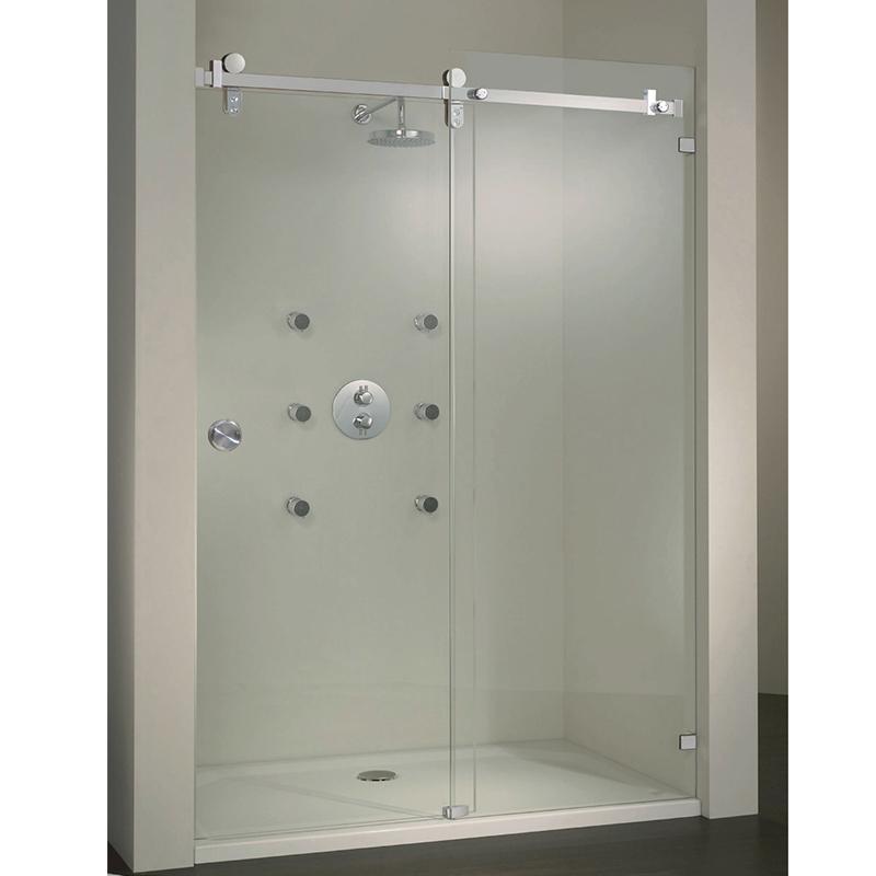 Sliding Shower Screen Glass Door Stainless Steel 304 KA-S003