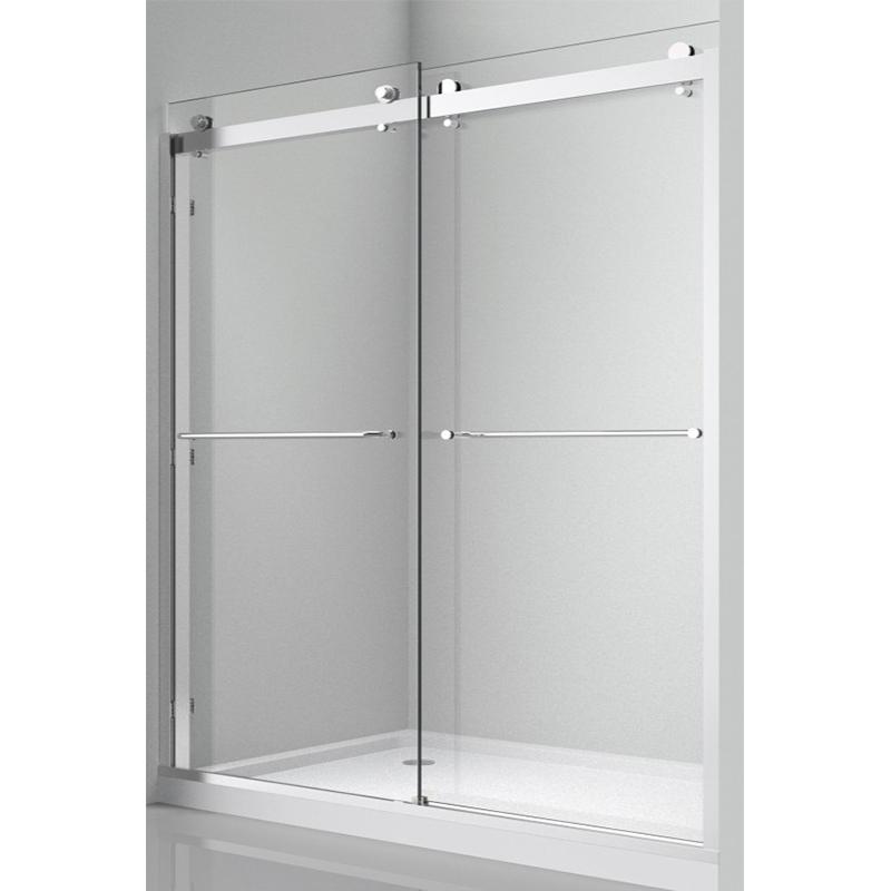 Two-way Sliding Glass Door Stainless Steel 304 KA-S015