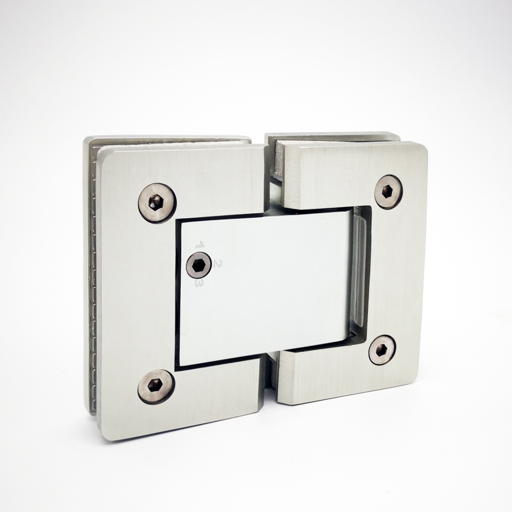 Hinge glass shower door solid brass pivot hinge SH-2-180H