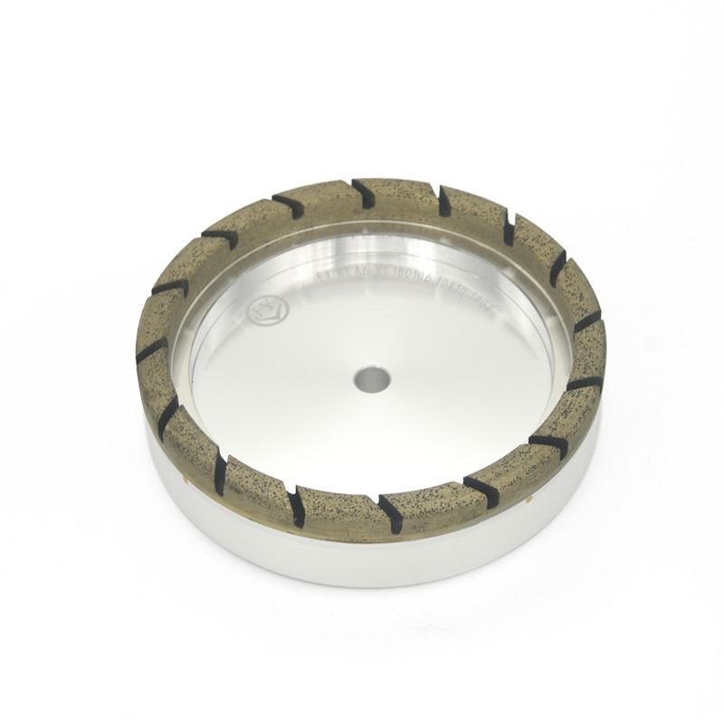 Full segmented diamond glass wheel AX