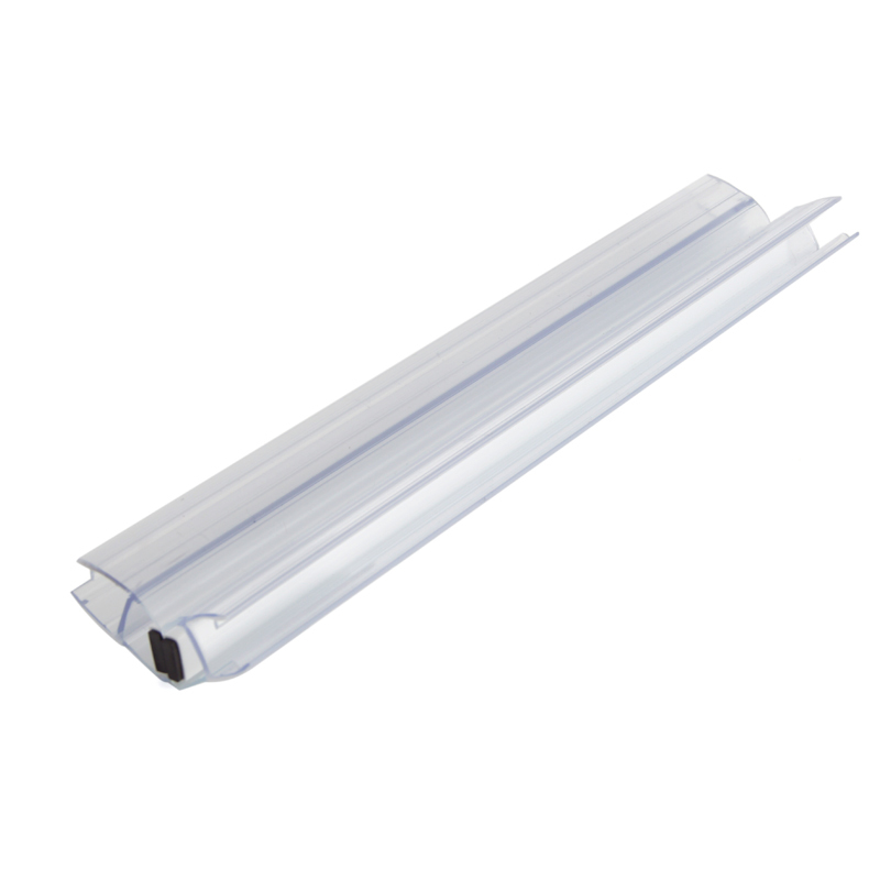 135 Degree White Mangetic Shower Door Sweep TSS-MP8