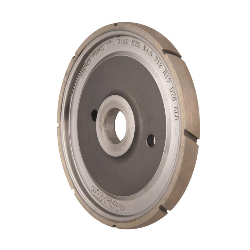 Diamut sintered diamond wheel for glass A-U-DIAMUT