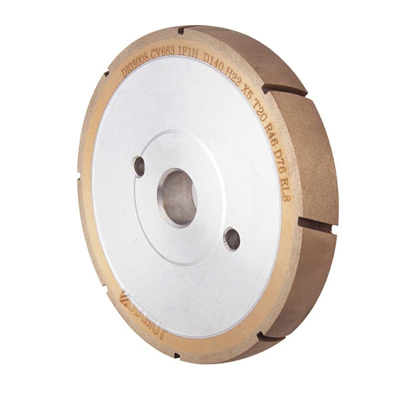 CNC machine glass U groove wheel AD-U-DIAMUT