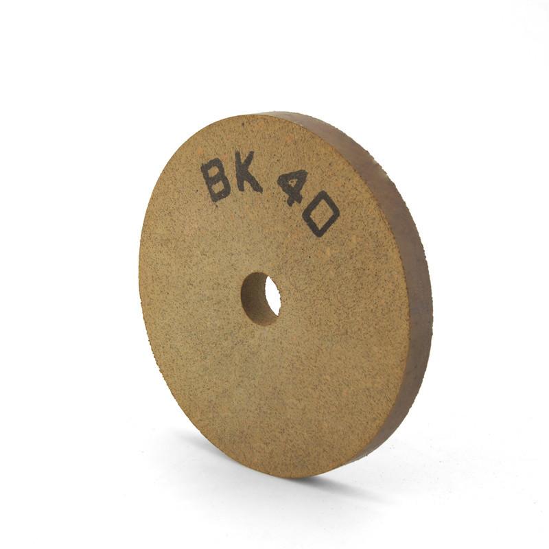 Flat-shape BK40 fine grinding and polishing wheel BK-FE-B40