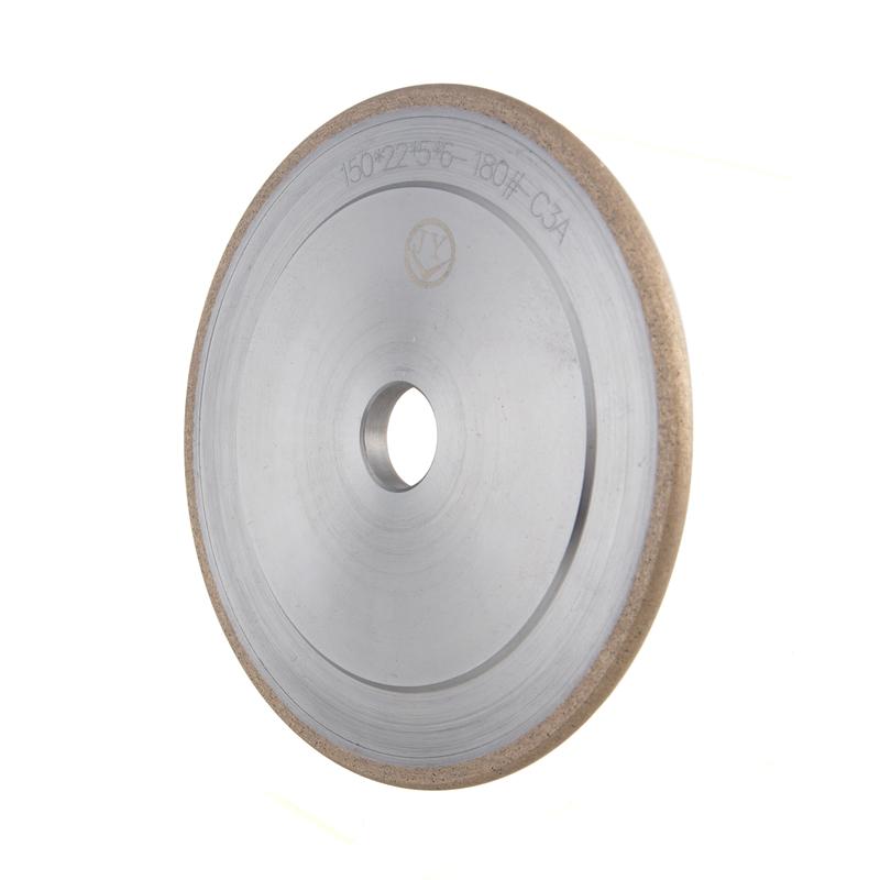 Glass Diamond Peripheral wheel U-shaped diamond wheel with engraved design A-U -ZH
